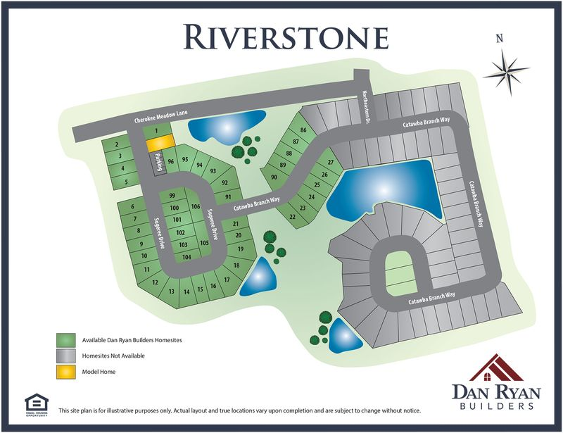 Riverstone Site Map