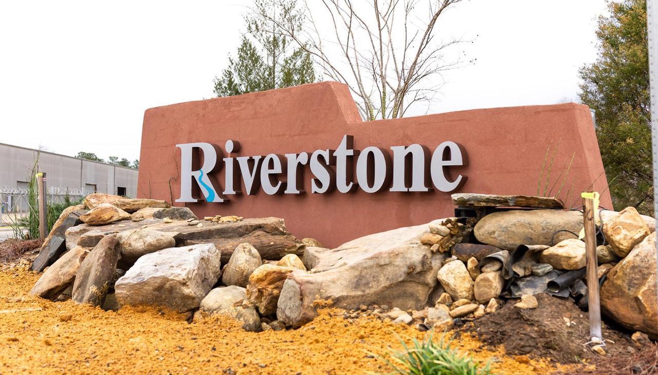 Riverstone Community Sign