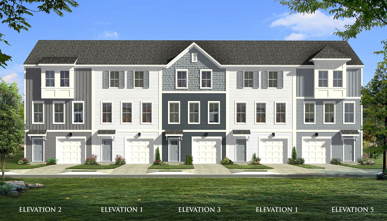 Exterior featured in the Brookgreen By Dan Ryan Builders in Charleston, SC