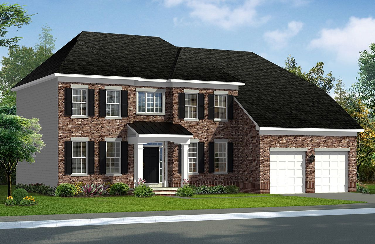 Dan ryan builders silver maple floor plan floor matttroy for Ran homes plans