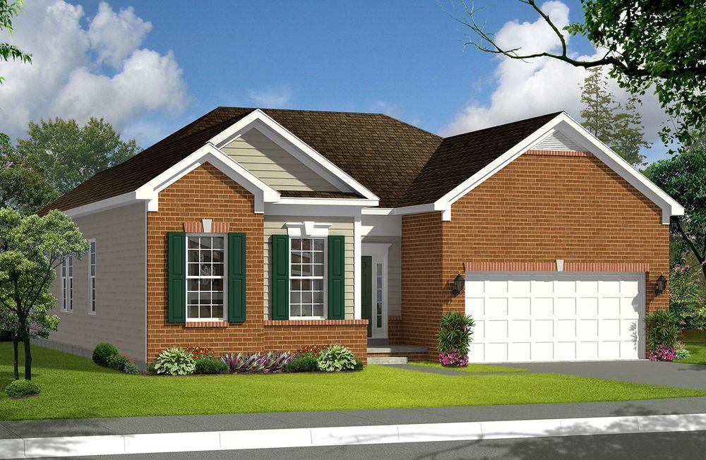 Juniper Ii Home Plan By Dan Ryan Builders In Nottingham Meadows