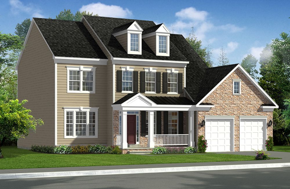 Dartmouth Ii Home Plan By Dan Ryan Builders In Sheridan
