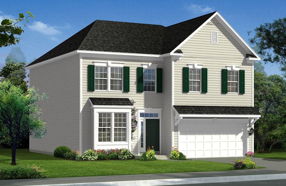 Cumberland ii home plan by dan ryan builders in stonegate for Stonegate farmhouse plans