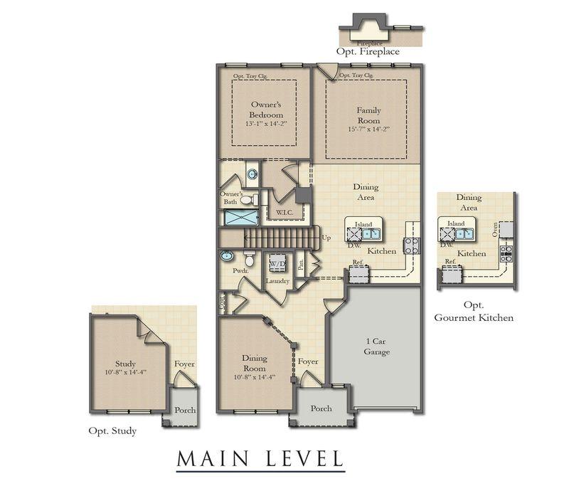 Sharpsburg ii home plan by dan ryan builders in rosewood for Rosewood house plan