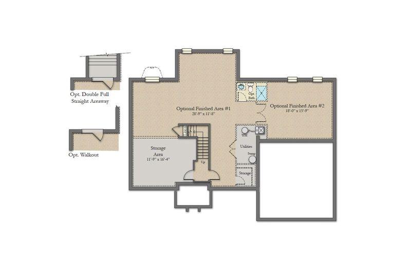 rosecliff ii home plan by dan ryan builders in shipley meadows