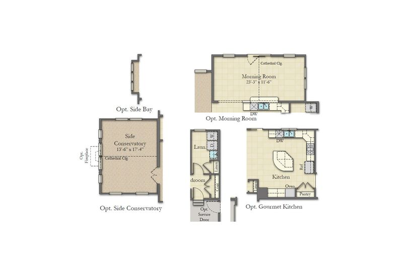 rosecliff ii home plan by dan ryan builders in ridges of
