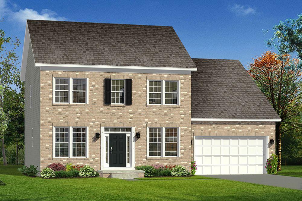 Fairfax Ii Home Plan By Dan Ryan Builders In Shipley Meadows