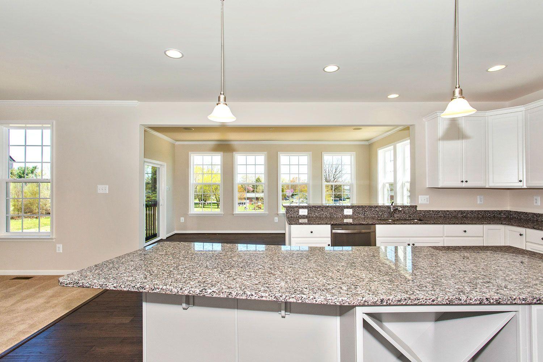 Kitchen featured in the Castlerock II By Dan Ryan Builders in Hagerstown, MD