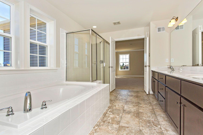 Bathroom featured in the Castlerock II By Dan Ryan Builders in Hagerstown, MD