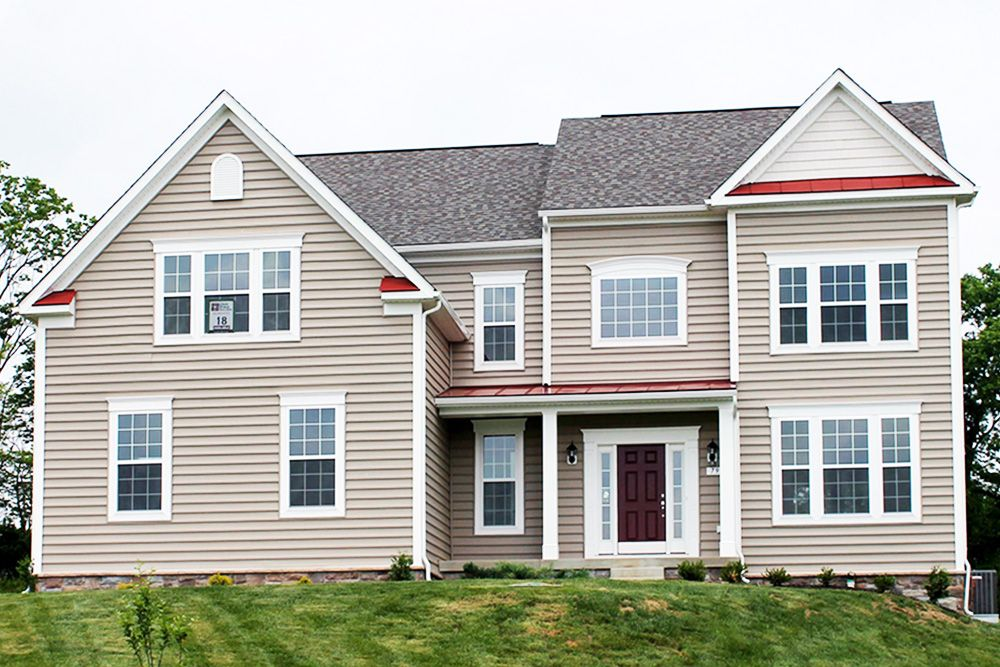 Oakdale ii model at 79 chew court for Home builders west virginia