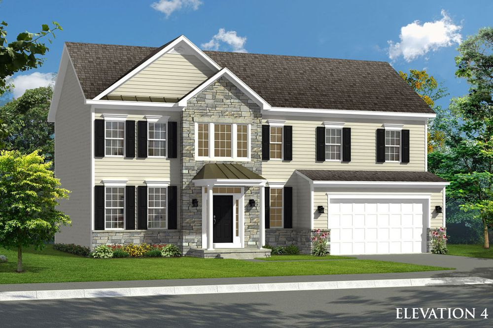 Oakdale ii model at bluebells court for Wv home builders