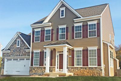 Fairfax ii home plan by dan ryan builders in stonecrest for Stonecrest builders