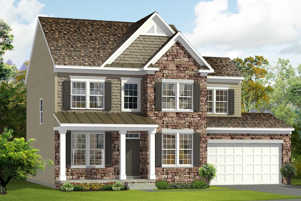 Newbury Ii Model At 313 Mcwharton Way