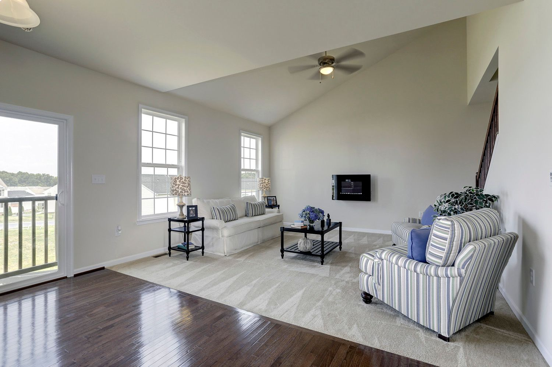 Living Area featured in the Cypress II By Dan Ryan Builders in Hagerstown, MD