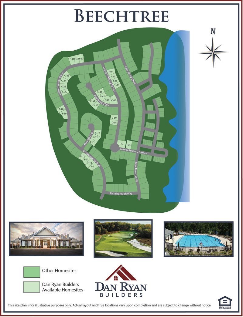 Beechtree Site Map