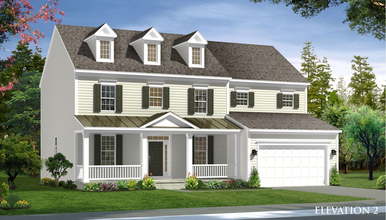 Exterior featured in the Castlerock II By Dan Ryan Builders in Hagerstown, MD