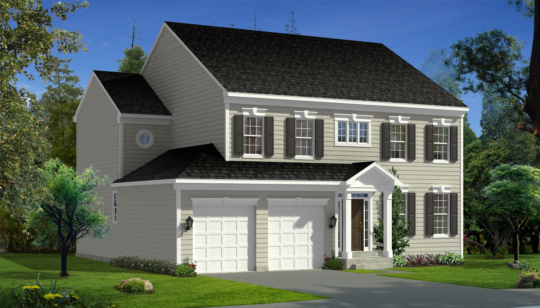 Exterior featured in the Belmont II By Dan Ryan Builders in Hagerstown, MD