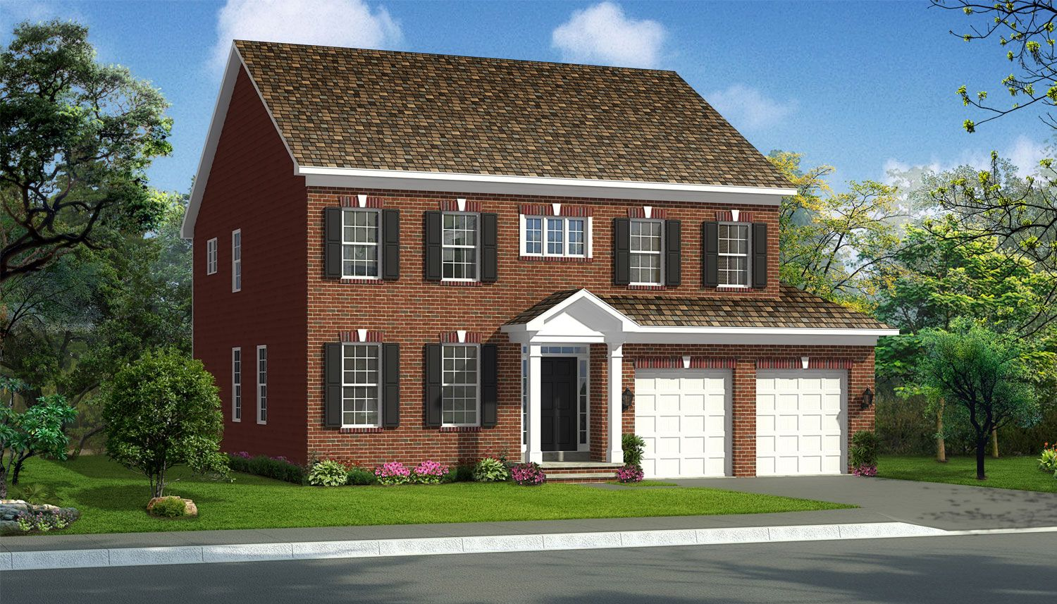 Exterior featured in the Belmont II By Dan Ryan Builders in Hagerstown, MD