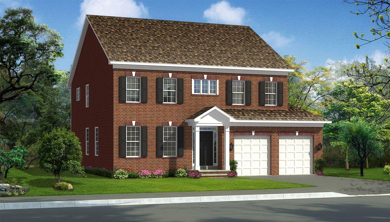 Exterior featured in the Belmont II By Dan Ryan Builders in Washington, WV