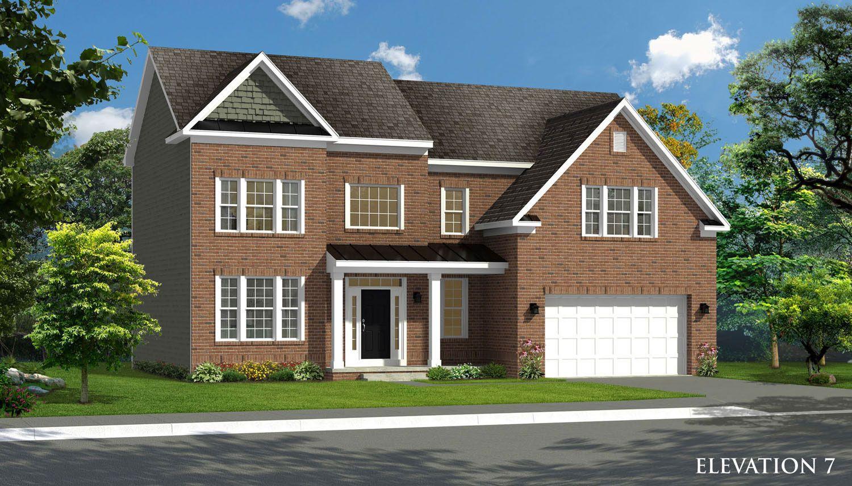 Exterior featured in the Oakdale II By Dan Ryan Builders in Washington, MD