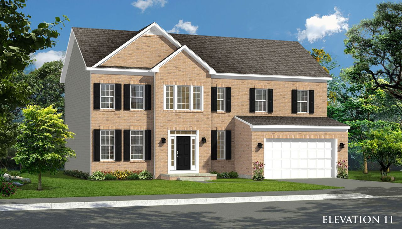 Oakdale II Home Plan by Dan Ryan Builders in Springdale Farm on blueprints for houses with open floor plans, mansion plans, i house architecture, i house home, home design floor plans, home builders floor plans, roof plans, split level home floor plans,