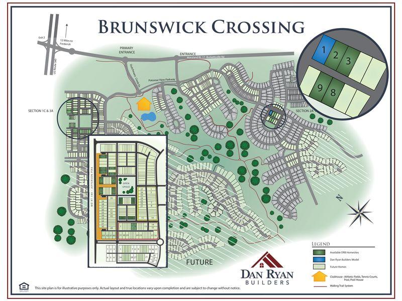 Brunswick Crossing Site Map