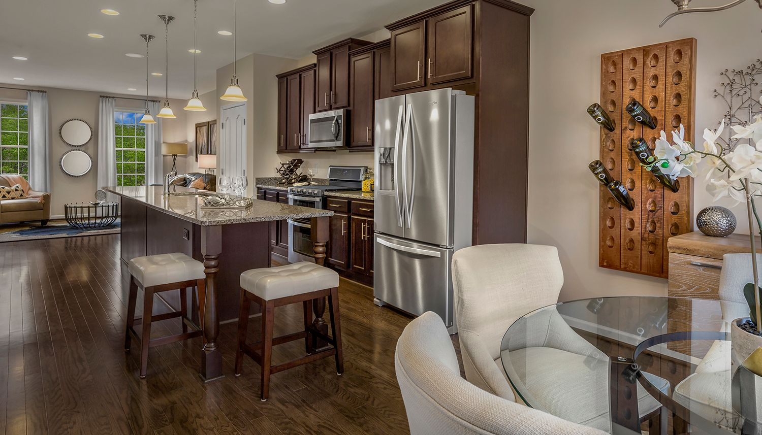 Kitchen featured in the Alden ll By Dan Ryan Builders in Washington, MD