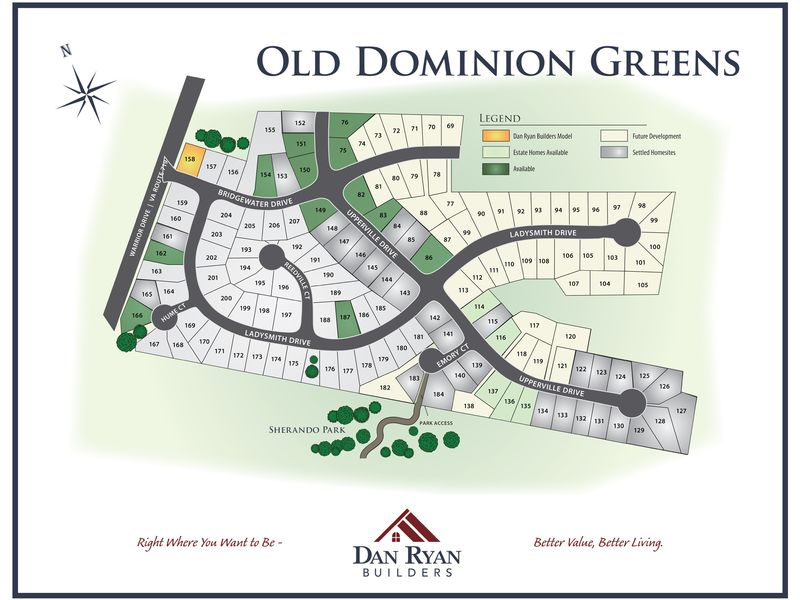 Old Dominion Greens