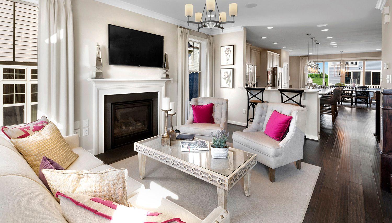 Living Area featured in the Landon II By Dan Ryan Builders in Washington, MD