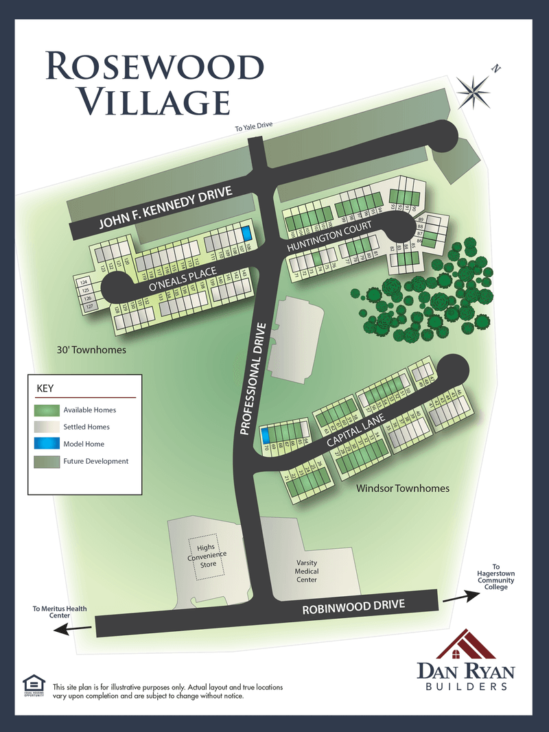 Rosewood Village Overview