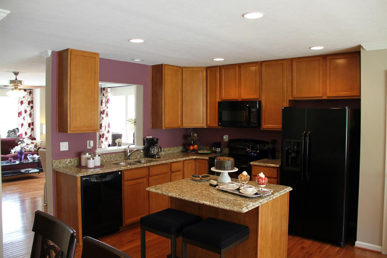 Kitchen featured in the York II Garage By Dan Ryan Builders in Washington, WV