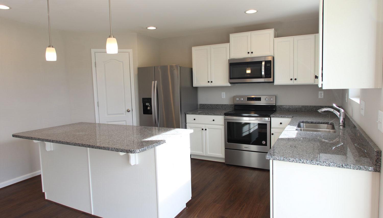 Kitchen featured in the Carnegie II By Dan Ryan Builders in Washington, WV