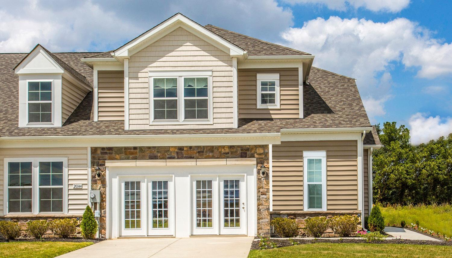 Exterior featured in the Longstreet II By Dan Ryan Builders in Hagerstown, PA