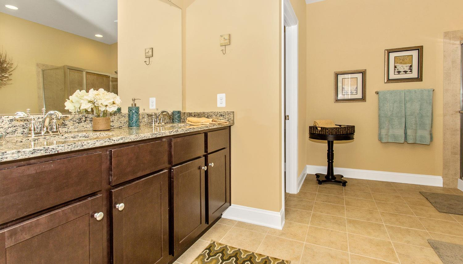 Bathroom featured in the Longstreet II By Dan Ryan Builders in Hagerstown, PA