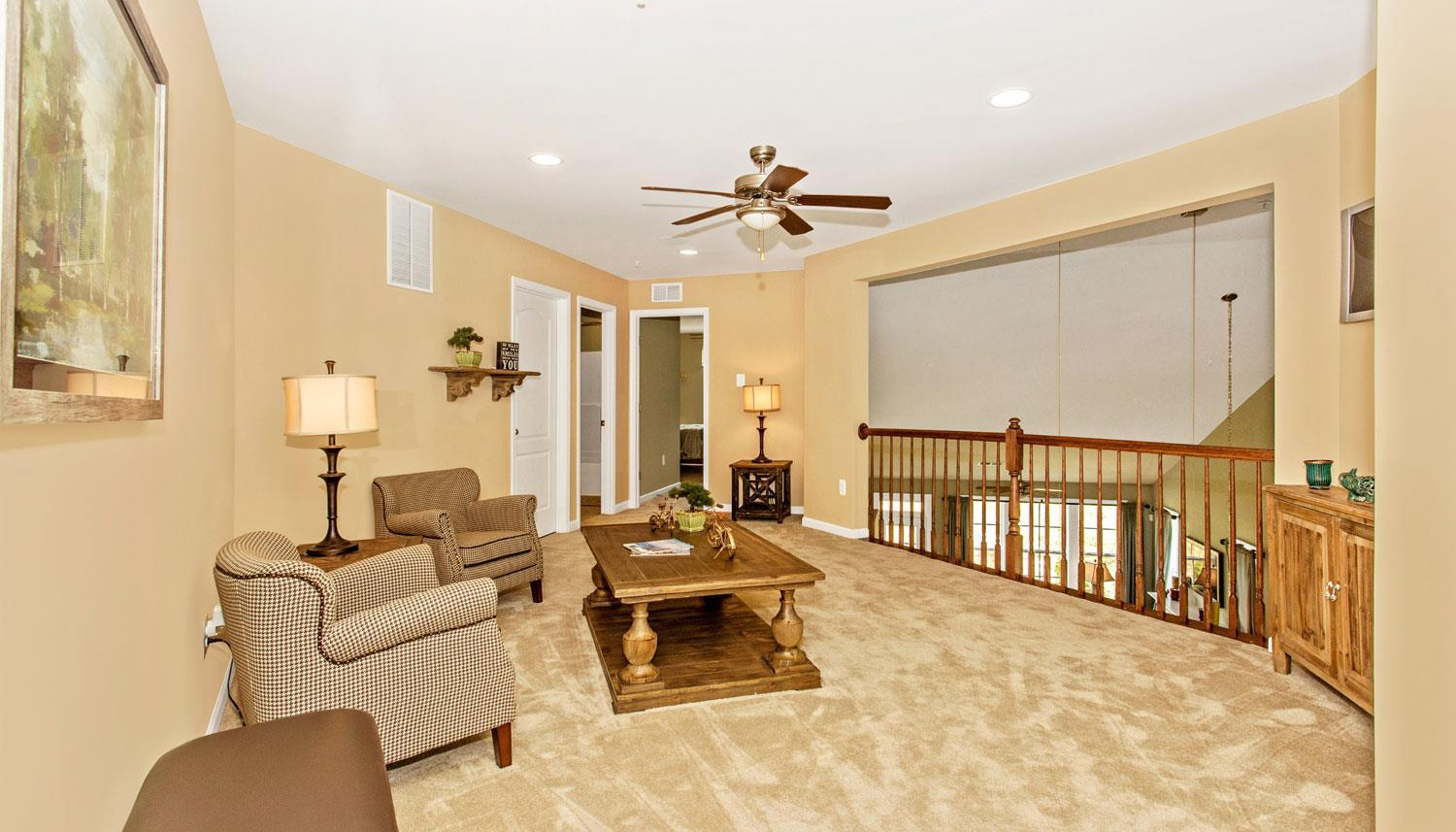 Living Area featured in the Longstreet II By Dan Ryan Builders in Hagerstown, PA