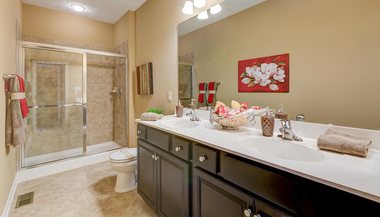 Bathroom featured in the Cambridge II By Dan Ryan Builders in Hagerstown, MD