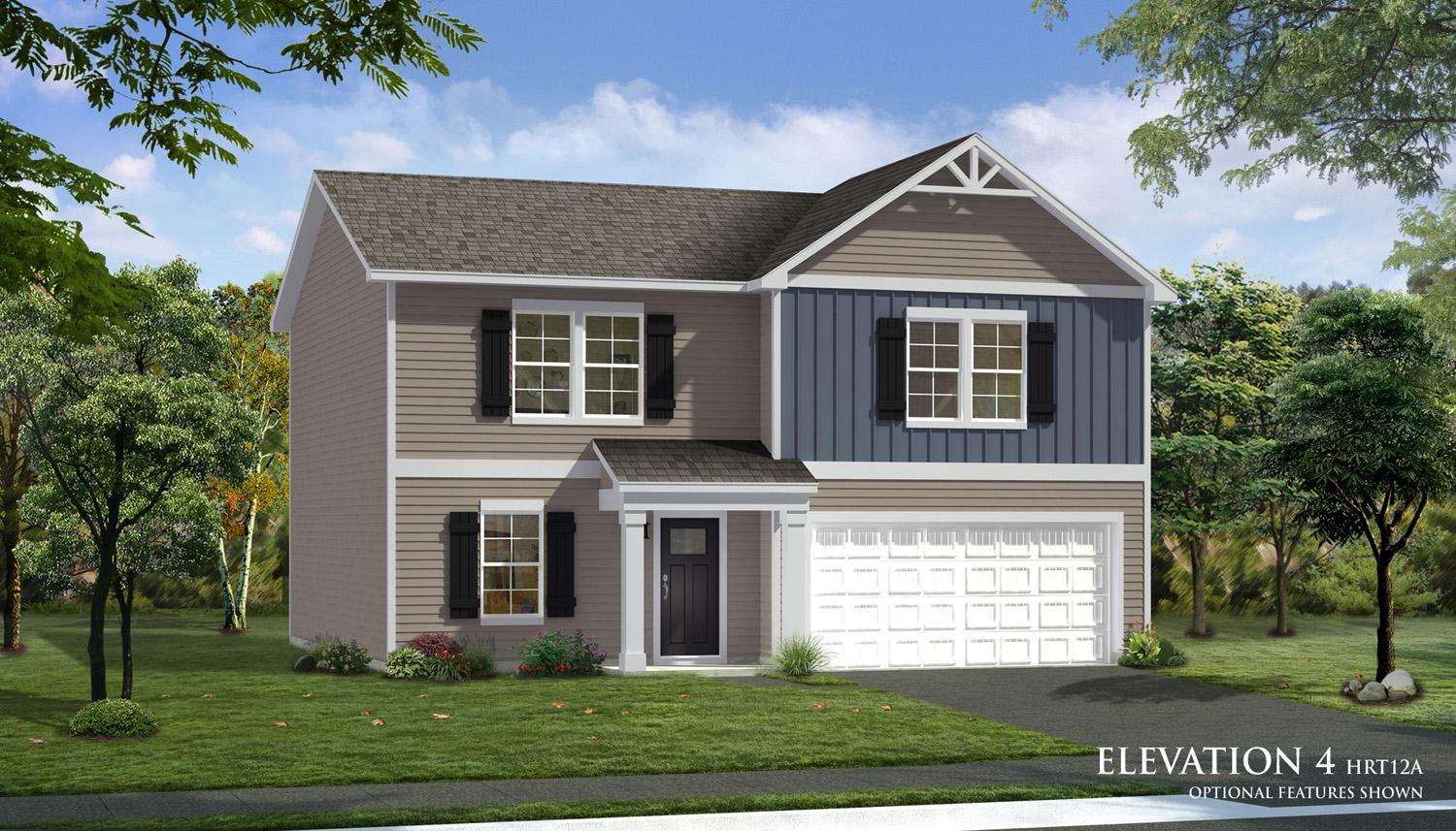 Exterior featured in the Whitehall By Dan Ryan Builders in Harrisburg, PA
