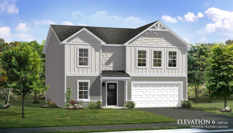 Exterior featured in the Carnegie II By Dan Ryan Builders in Harrisburg, PA