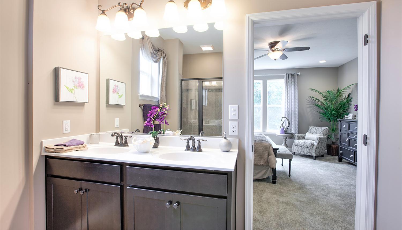 Bathroom featured in the Juniper II By Dan Ryan Builders in Washington, VA