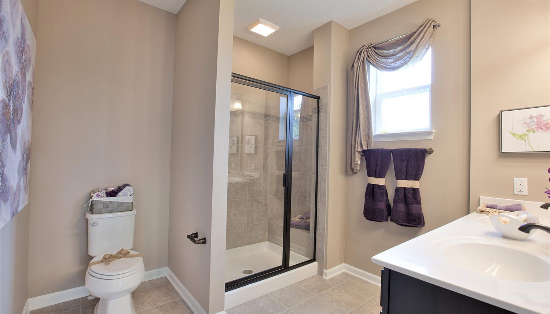 Bathroom featured in the Juniper II By Dan Ryan Builders in Hagerstown, MD