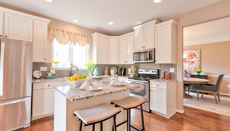 Kitchen featured in the Juniper II By Dan Ryan Builders in Washington, WV