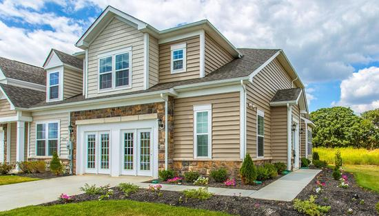 Martinsburg Station Villas and Townhomes by Dan Ryan Builders in Washington West Virginia