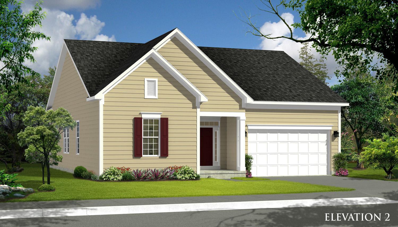 Exterior featured in the Juniper II By Dan Ryan Builders in Hagerstown, MD