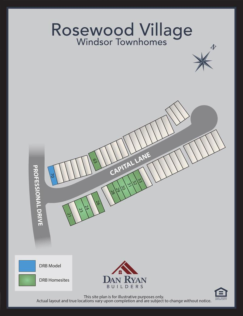 Rosewood Village-windsor towns