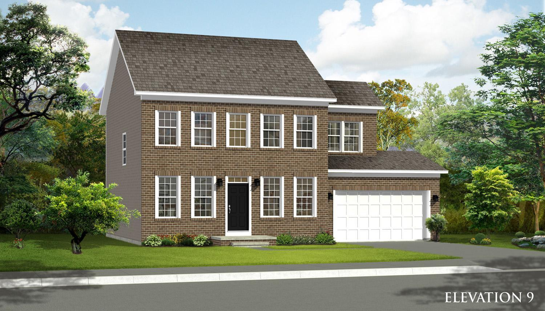 Exterior featured in the Newbury II By Dan Ryan Builders in Hagerstown, MD