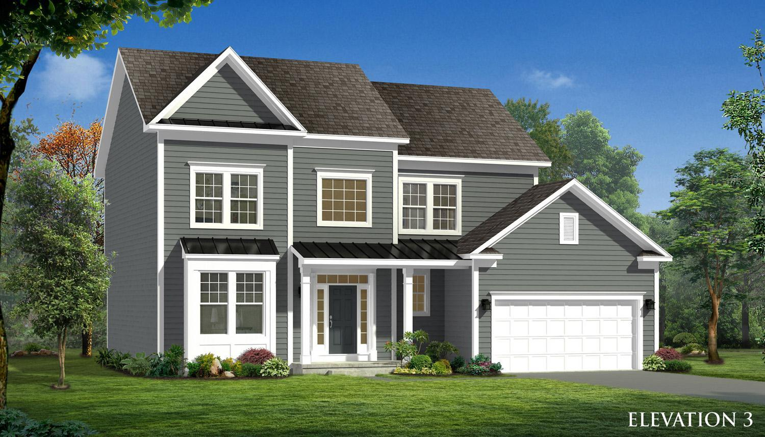 Exterior featured in the Nottingham II By Dan Ryan Builders in Hagerstown, MD