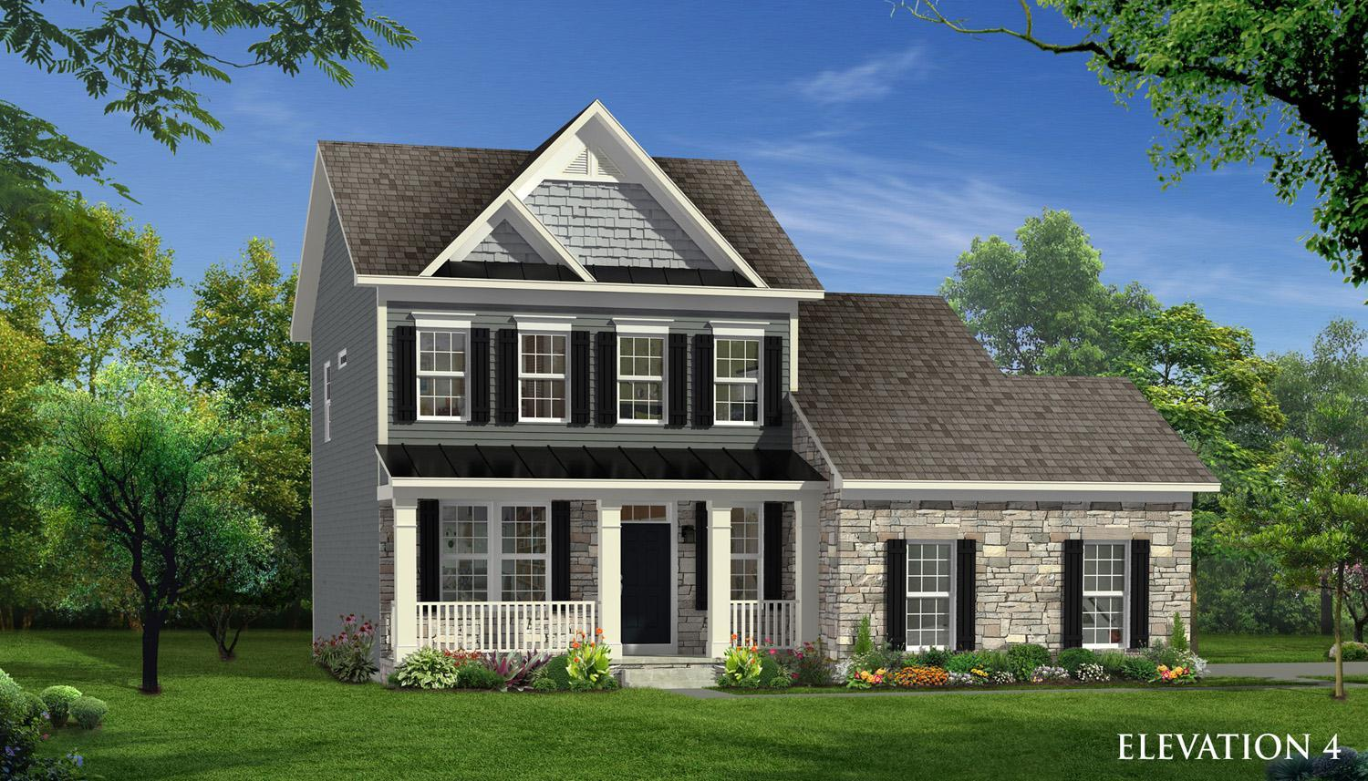 Exterior featured in the Cypress II By Dan Ryan Builders in Hagerstown, MD