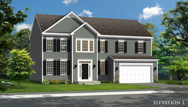 Exterior featured in the Oakdale II By Dan Ryan Builders in Hagerstown, MD