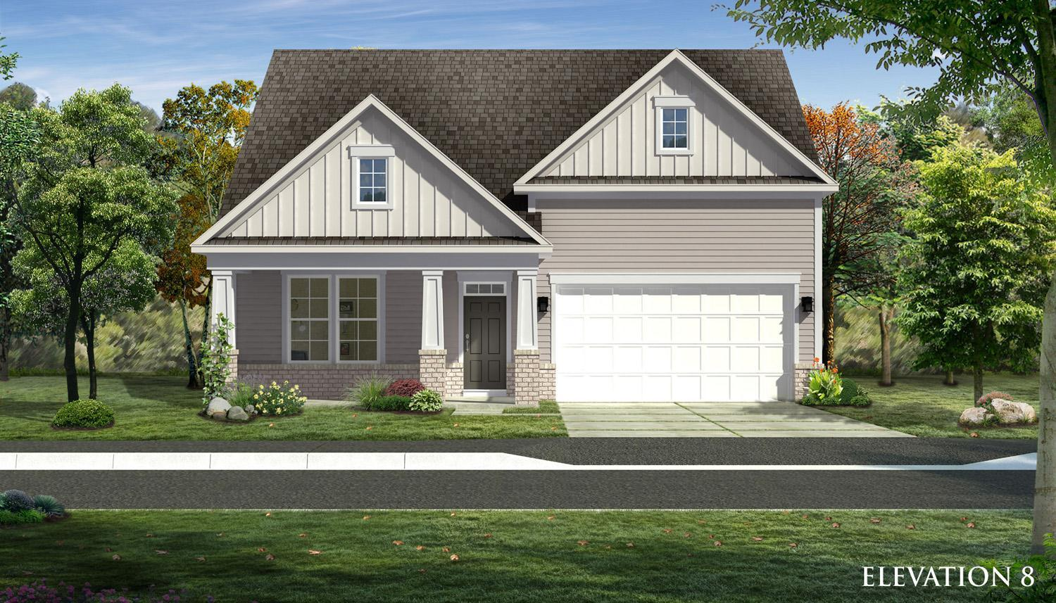 Exterior featured in the Birch ll By Dan Ryan Builders in Hagerstown, MD