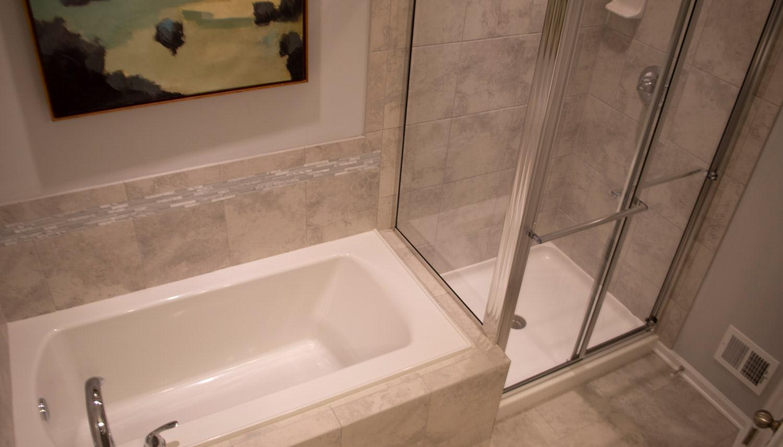 Bathroom featured in the Litchfield II By Dan Ryan Builders in Washington, VA